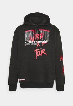 TOUR HOOD - Sweatshirt - black
