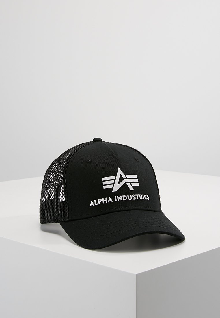 Alpha Industries - BASIC TRUCKER - Casquette - black