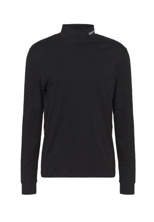 MOCK NECK TEE - T-shirt à manches longues - black