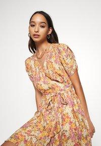 Forever New - TRINA WRAP MINI DRESS - Day dress - dark yellow - 4