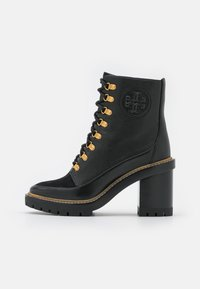 Tory Burch - MILLER BOOTIE - Lace-up ankle boots - perfect black - 1