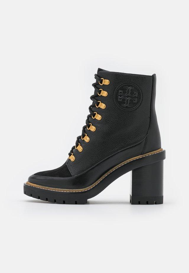 MILLER BOOTIE - Veterboots - perfect black