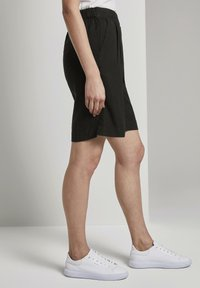 TOM TAILOR - Shorts - deep black - 3