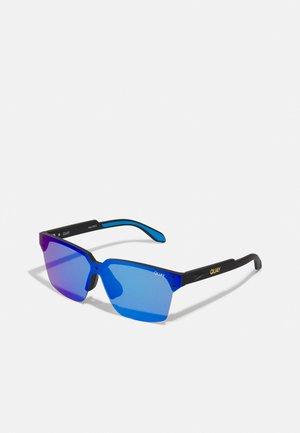RIMLESS SQUARE - Sunglasses - black/blue/purple