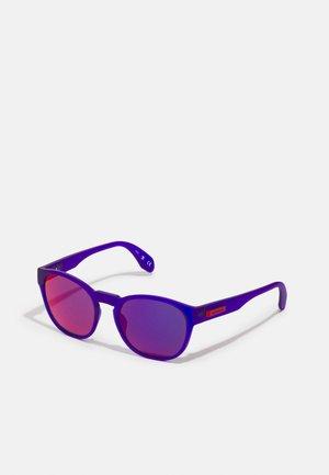 UNISEX - Zonnebril - violett matt/blau