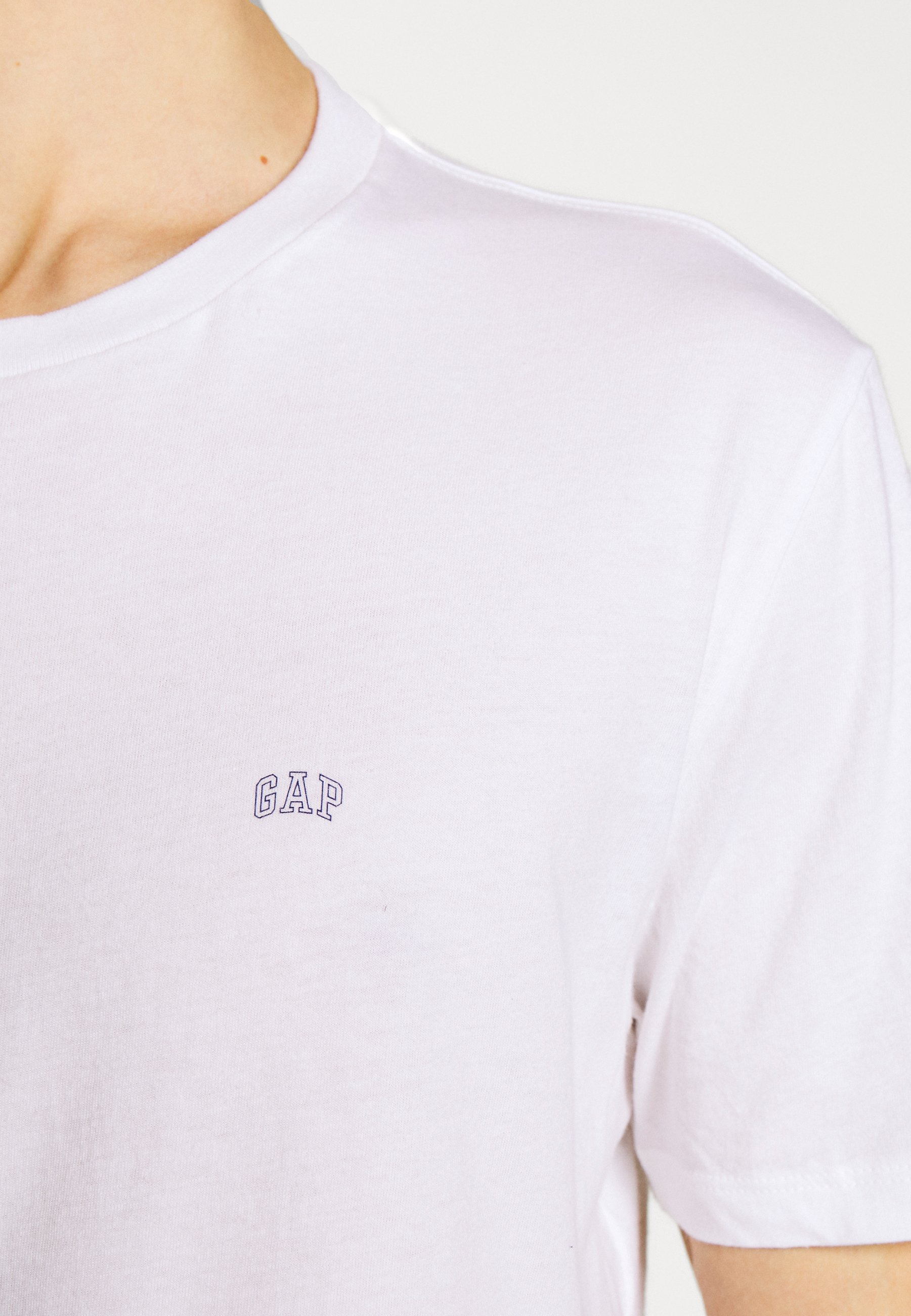 GAP CREW 2 PACK - Basic T-shirt - optic white etypd