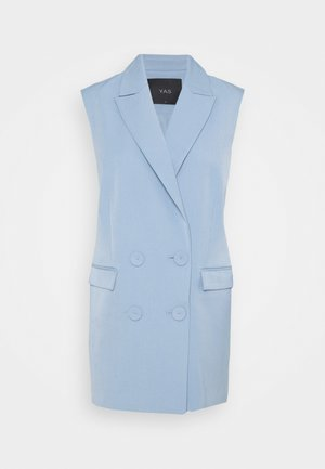 YASCORNFLOWER LONG WAISTCOAT - Veste sans manches - cornflower blue