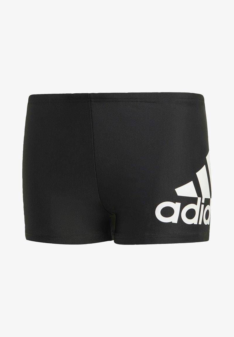 adidas Performance - BADGE OF SPORT PRIMEGREEN BOXER SWIM TRUNKS - Bokserit - black