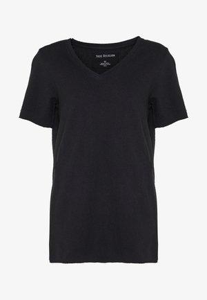 VNECK - Jednoduché triko - black