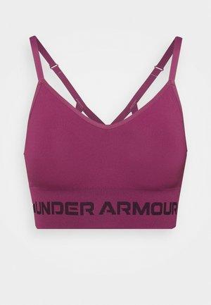 SEAMLESS LOW LONG BRA - Reggiseno sportivo con sostegno leggero - pink quartz