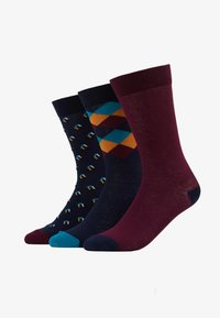 Pier One - 3 PACK - Calcetines - multi-coloured - 1