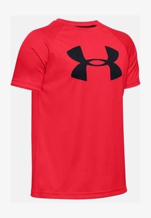 Tech Big Logo - Print T-shirt - red