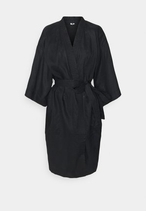 ROBE - Dressing gown - black