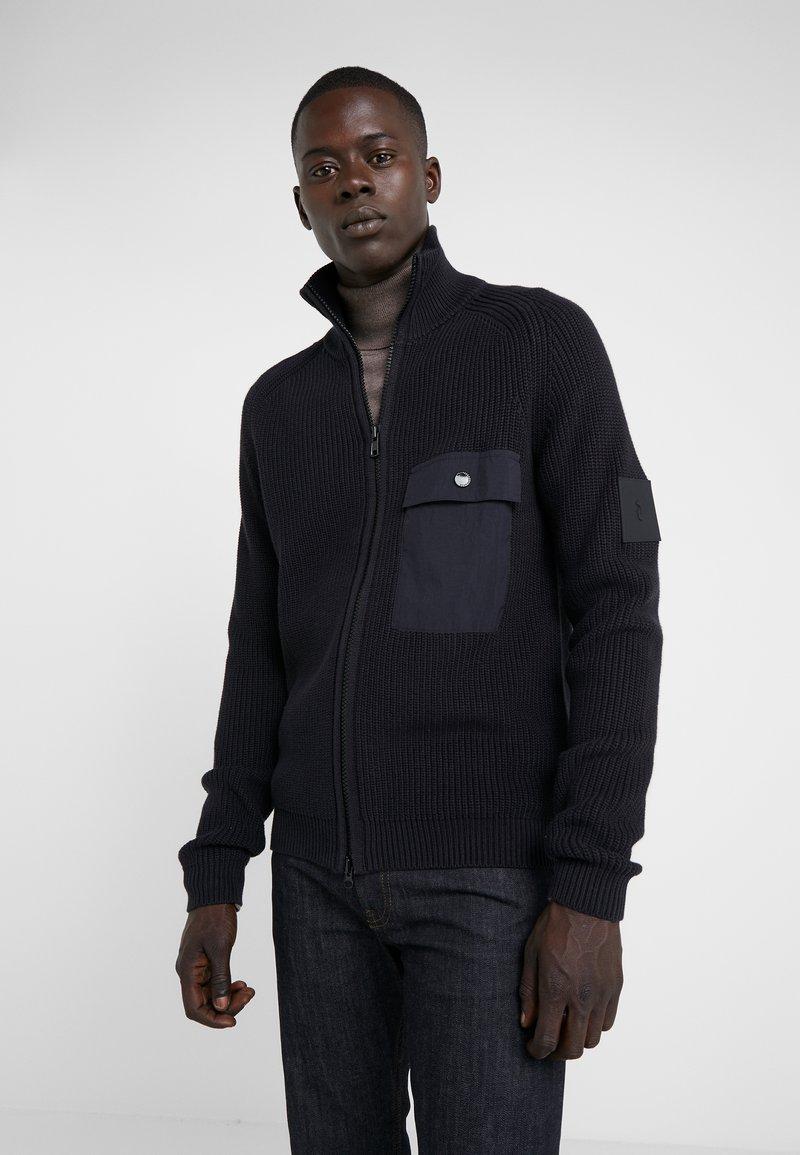 Peak Performance Urban - DOC ZIP - Cardigan - black