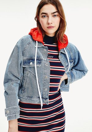 Denim jacket - marcia mid blue