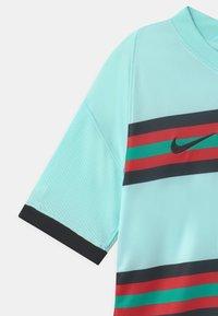 Nike Performance - PORTUGAL UNISEX - National team wear - teal tint/black - 3
