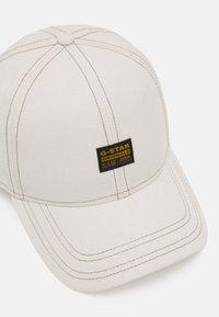 G-Star - ORIGINALS BASEBALL CAP - Cap - whitebait - 3