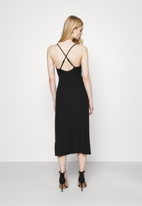 Fashion Union - CRAWFORD DRESS - Žerzejové šaty - black - 2