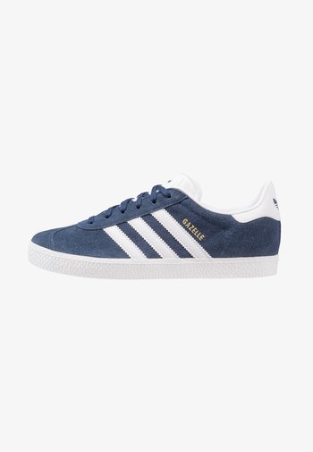 GAZELLE UNISEX - Sneaker low - collegiate navy/footwear white