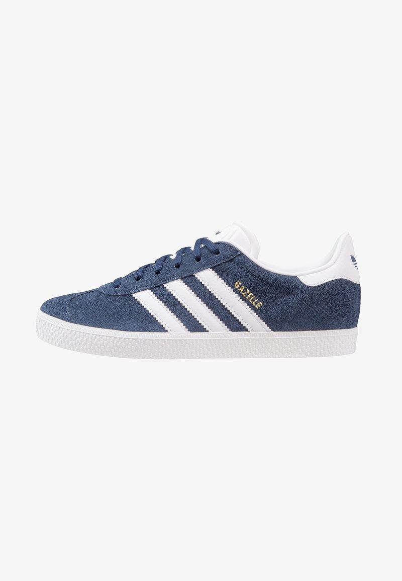 adidas Originals - GAZELLE  - Zapatillas - collegiate navy/footwear white