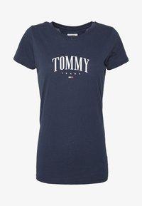 SCRIPT  - Print T-shirt - twilight navy