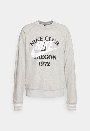 TREND CREW - Sweatshirt - grey heather