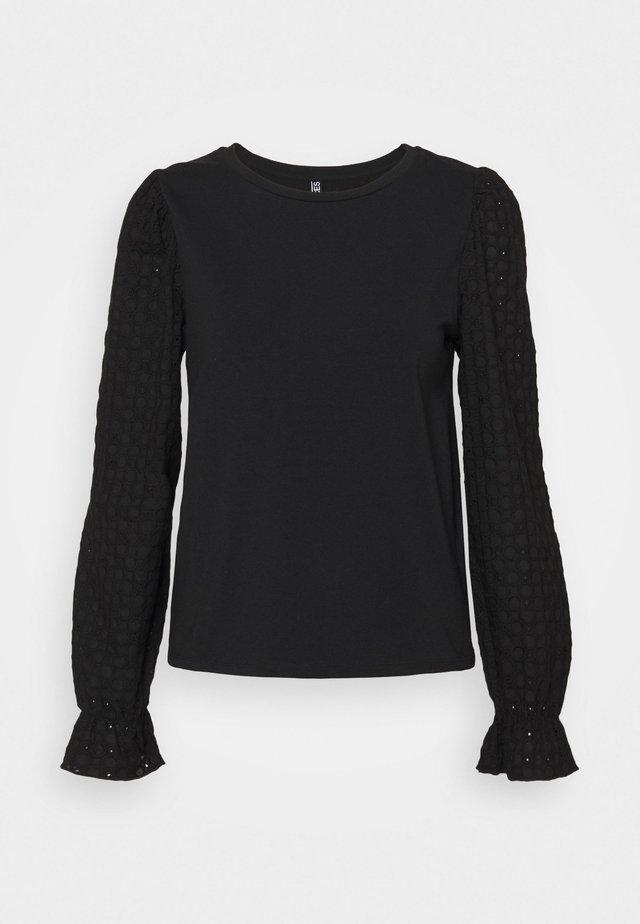 PCLIZZIE  - Maglietta a manica lunga - black