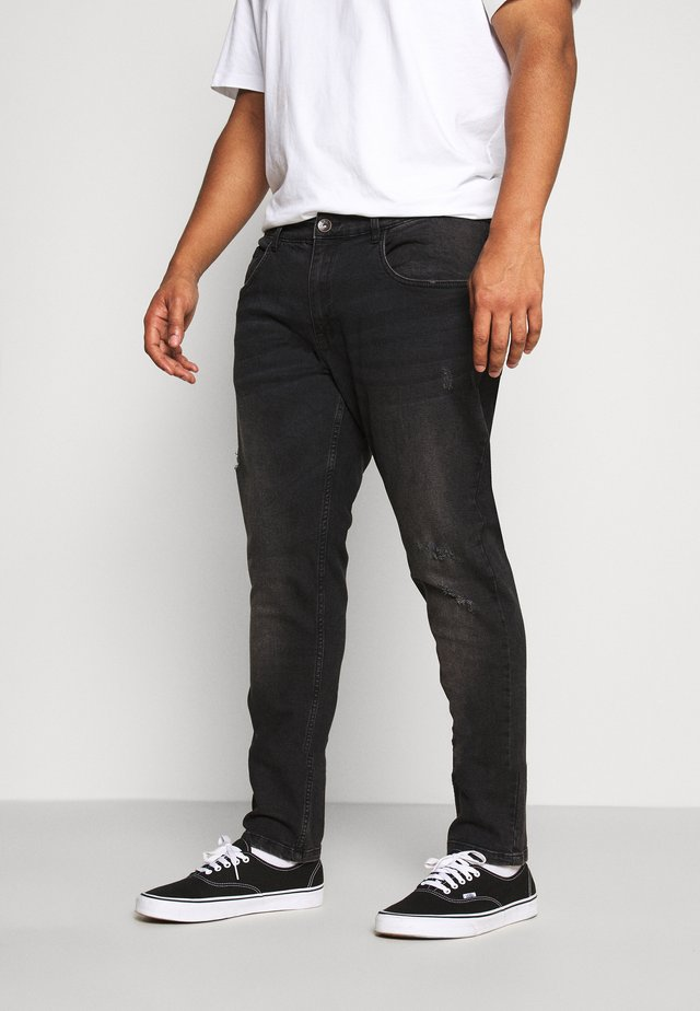 USGENEVE DESTROY - Vaqueros slim fit - edgy black