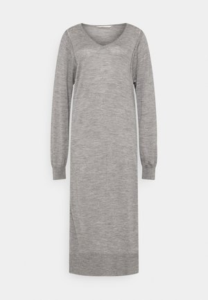 ZENIA - Jumper dress - grey melange