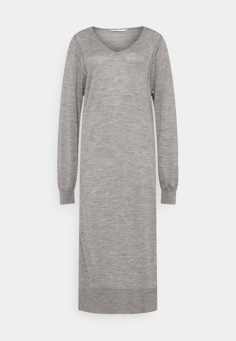 GAI+LISVA - ZENIA - Jumper dress - grey melange