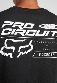 Fox Racing - PRO CIRCUIT PREMIUM TEE - Print T-shirt - black - 5