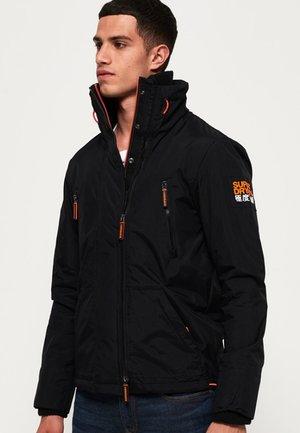 POLAR SD-WIND ATTACKER - Light jacket - black/neon orange