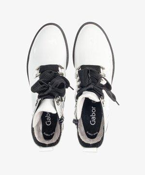 Lace-up ankle boots - weiãÿ