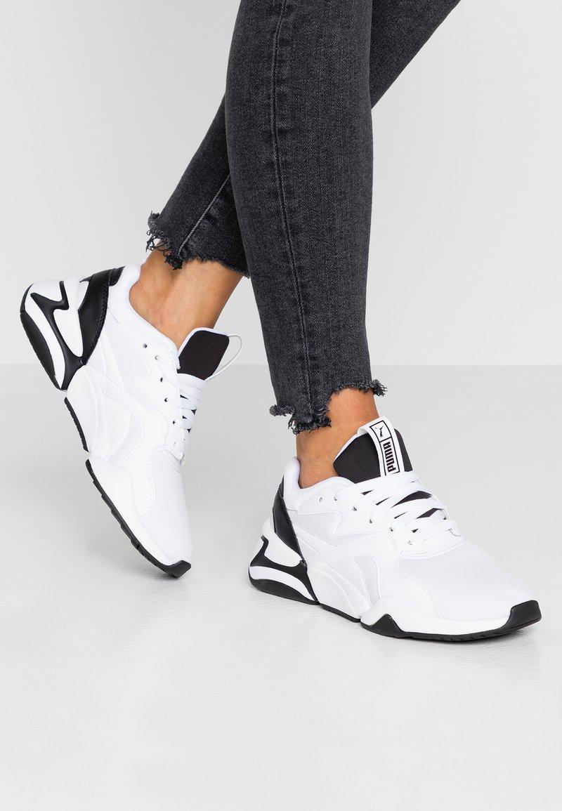 Puma - NOVA - Trainers - white/black
