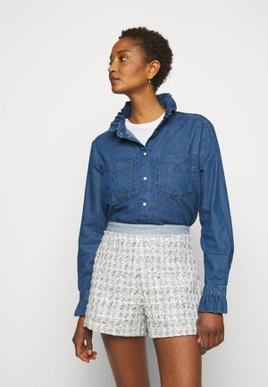 COQUILLAGE - Button-down blouse - jean
