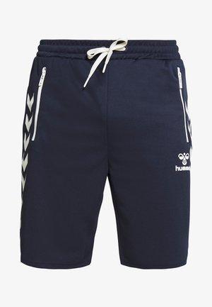 HMLXANDER SHORTS - Pantalón corto de deporte - black iris