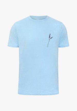 LAVENDER - T-shirt con stampa - blue