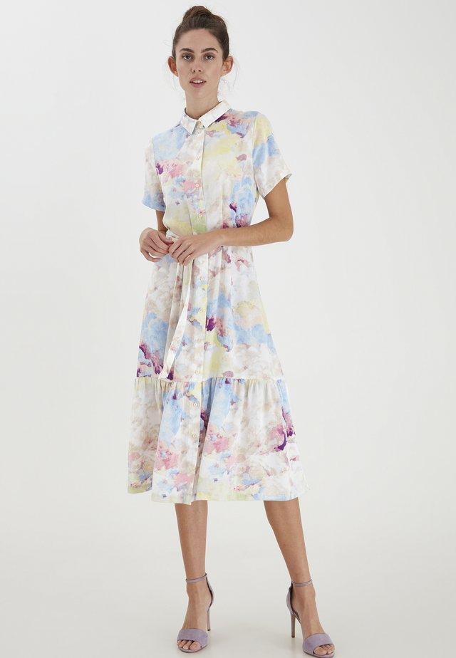 Skjortekjole - multi color