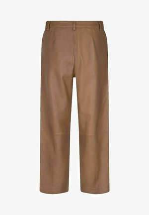 COMO  - Leather trousers - braun