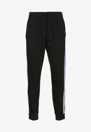 ESSENTIALS COLORBLOCK LINEAR - Tracksuit bottoms - black