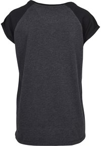 Urban Classics - Print T-shirt - charcoal/black - 2