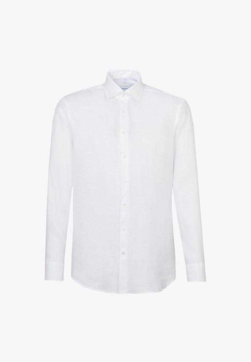 Seidensticker - SLIM FIT - Formal shirt - weiss