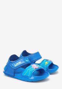 Next - PEPPA PIG POOL SLIDERS - Walking sandals - blue - 3