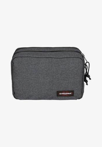 Wash bag - black denim