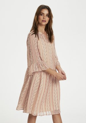 Shirt dress - pink flower