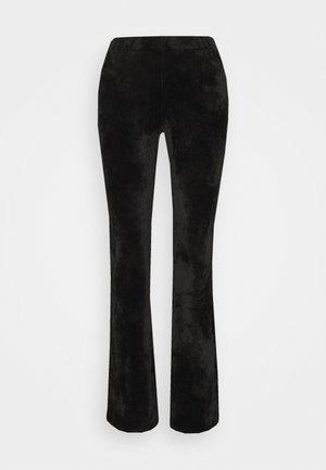VELOUR - Leggings - Trousers - black