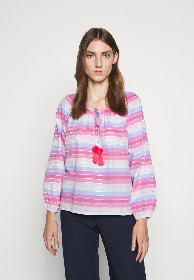 JACK  RAINBOW STRIPE - Bluse - purple/pink/multi