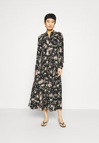 Mavi - PRINTED DRESS - Vestido camisero - black/multi-coloured - 0