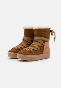 See by Chloé - Kotníkové boty na platformě - light brown - 2
