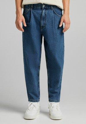 TAPERED - Jeans a sigaretta - dark blue